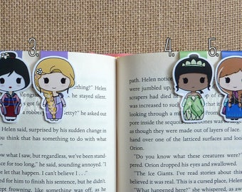 Magnetic Bookmarks • Princesses 2