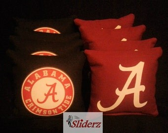 Alabama Cornhole Bags Made Ships in 1-2 Bus Days BAMA ROLL TIDE Receive Promo Code for 10% off when you Favorite this Shop