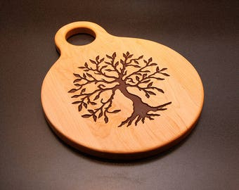 Cheese Board, Tree of Life Personalized Cutting Board, Wedding Gift, Valentine, Anniversary, Gift For Her