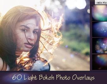 Sunlight bokeh lens photoshop overlays, Sun Lens Flare Overlays, Sunlight Photoshop Overlays,  Light Leak Overlays,