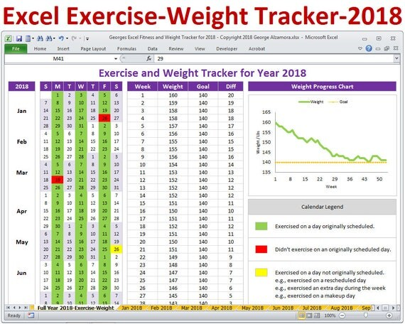 exercise sheet template