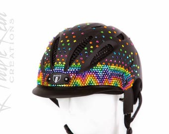 Custom Bling Equestrian Helmet (Tipperary) - Prints and Designs