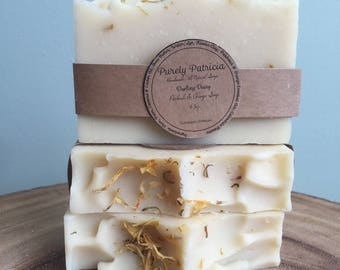Darling Daisy | Orange & Patchouli Soap | Purely Patricia | Handmade | All Natural | Vegan