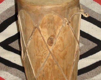 Native American Navajo Ceremony Drum Hand Made Authentic