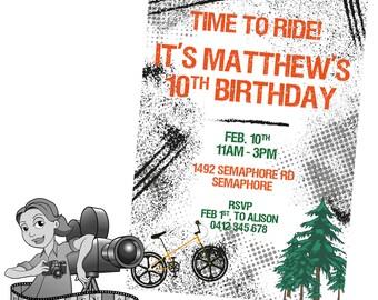 Mountain Bike Invites