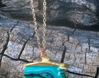 Eye of Isis (Horus-Rah) Egyptian Necklace