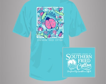 Lil' Myrtle the Turtle - Youth T-Shirt - Southern Fried Cotton