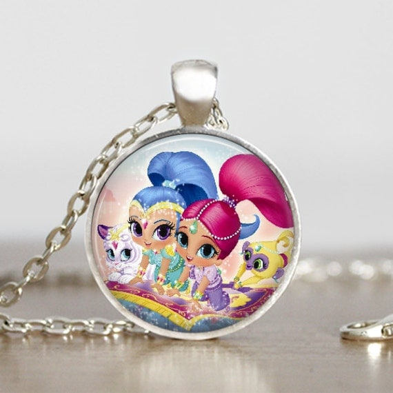 shimmer and shine shimmer and shine jewelry shimmer pendant