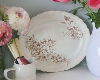 Victorian platter