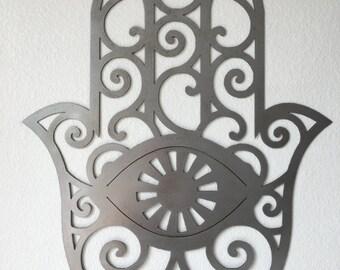 Hamsa Wall Metal Art