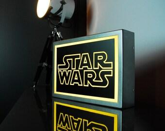 300 x 205mm (A4) - STAR WARS - LED Lightbox - Illuminated Rogue One Light Up Box