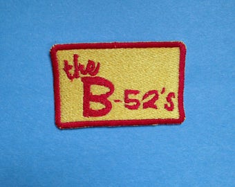 B-52's Iron-on Patch