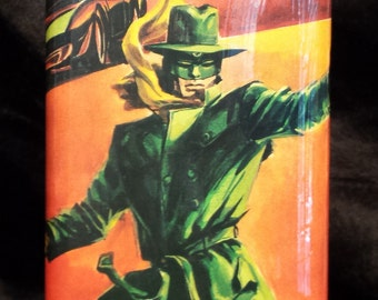 The Green Hornet 8 oz stainless steel flask