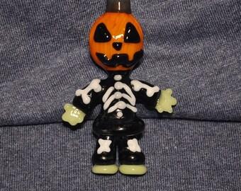 Jack-o-lantern Cute and Creepy Pendant