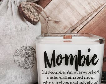Soy Candle / Mom Gift / Mother's Day Candle / Candle With Message / New Mom Gifts / Gift's For New Moms / Gifts For Moms