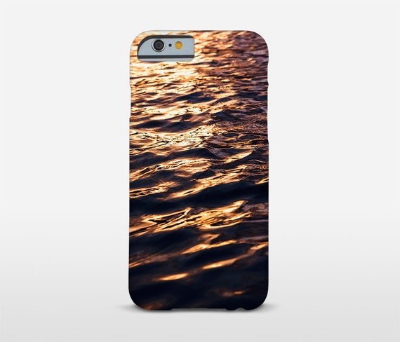 Sunset Photography Cell Phone Case, Water Reflection, Abstract Phone Art, Galaxy S7 Case, iPhone 7 Cases, iPhone 6 Case and more models