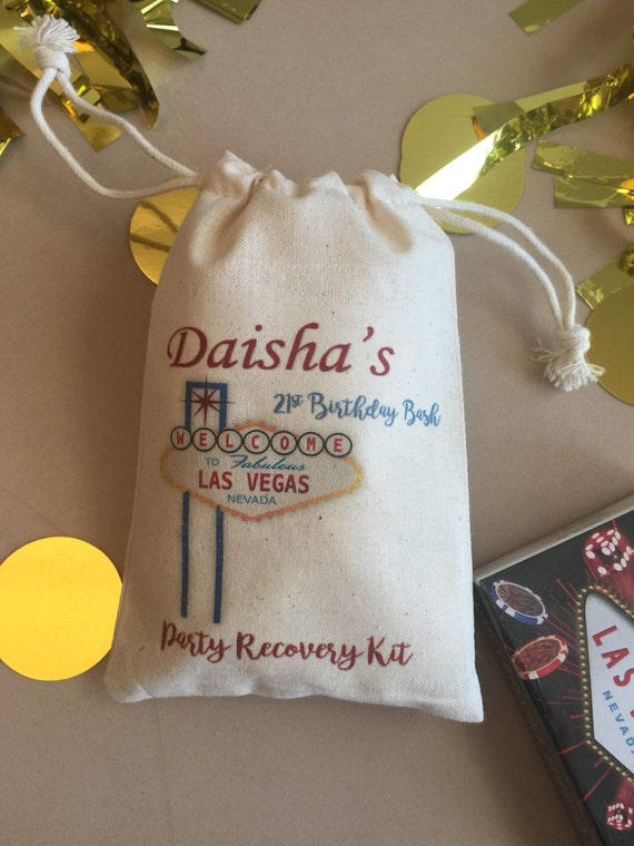Vegas Wedding Gift Bag Ideas : Las Vegas wedding favor bags, destination wedding, Vegas wedding ...