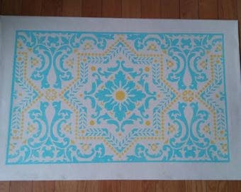 Floorcloth 2' X 3'