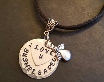 Hand Stamped Charm