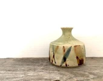 Vintage Paul Marshall pottery vase Japan