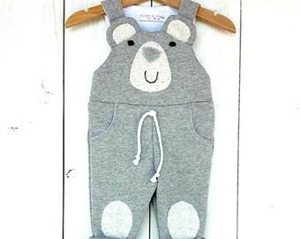 Baby Boy Dungarees, Overalls, Bib Newborn Baby Girl bear Suit plush Animals clothing, newborn, Little Bear Baby Romper, bear