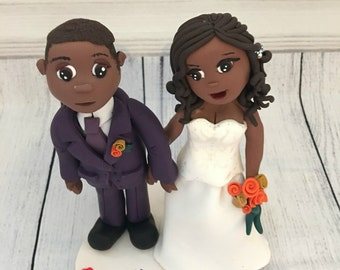 nigerian wedding cake toppers cake topper etsy 17878