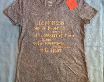 Harry Potter Dumbledore Quote Womens T-Shirt