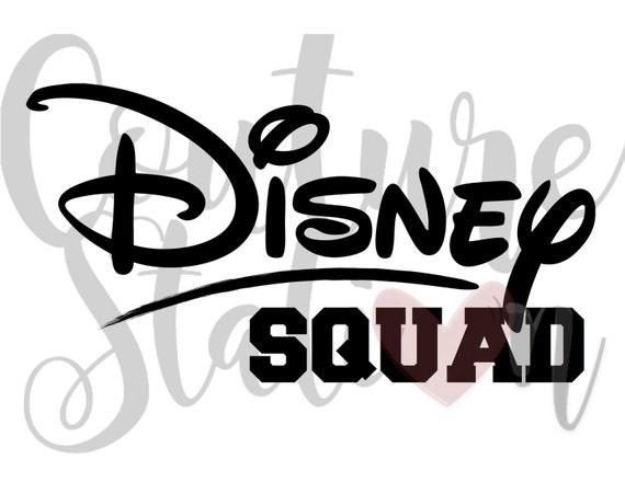 Disney Squad Digital Iron On Image Instant Download Disney