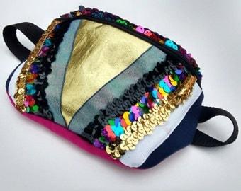 Sparkly Glittery Festival Bum Bag Hip Bag Fanny Pack