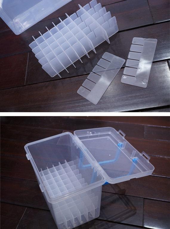 Plastic Marker Pens Storage Case Sketch Marker Organizer