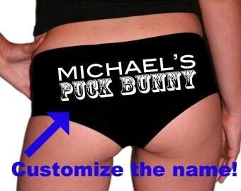Custom Puck Bunny Underwear