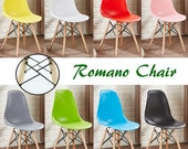 ROMANO Retro Style Chair design  chaise Retro design scandinave Dining Chair or Office Chair