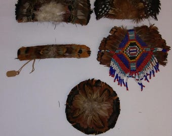 Handmade Feather Barrettes