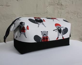 Beaver Toiletry Bag