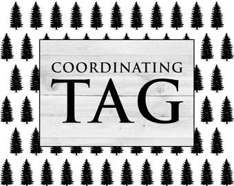 ADD ON: Coordinating Tag