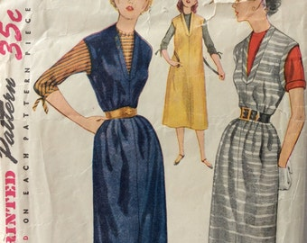 Simplicity 4080 misses jumper and blouse size 12 bust 30 vintage 1950's sewing pattern