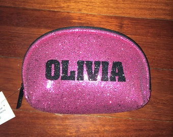 Glitter Makeup Case - Great for Cheer and Dance - also Matches Backpacks available in store - Free Shipping