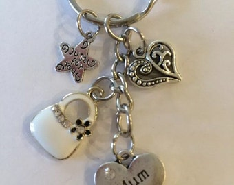 Mum Keyring Gift/ Mothers Day keepsake  and a pillow gift box