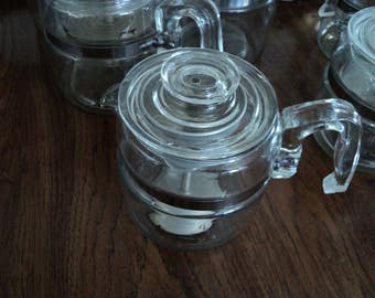 4-cup Pyrex coffee percolator