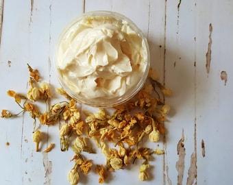 Jasmine Body Butter, Whipped Shea Butter, Body Moisturiser