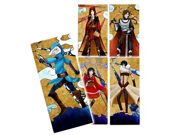 The Icchorians – Character Bookmark Set – Volume 2