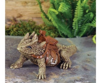 Fairy Garden  - Horned Toad Lizard - Miniature