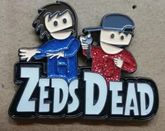 The Zeds Dead Show! - LIMITED EDITION - Zeds Dead Hat pin