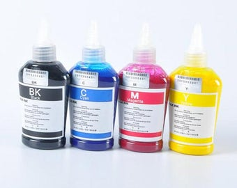 4 x 100ml 400ml Bottle For Epson Dye Sublimation Ink for Epson Bulk Ink Non OEM *Free Shipping*