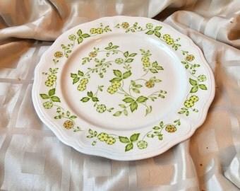 "Petite Flora Ironstone Platter 4009 - Federalist Ironstone 12"" Platter"