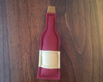 Wine Bottle Catnip Cat Toy - Cat Nip Cat Gift