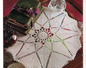 PDF Crochet Doily Pattern Table Topper