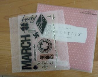 Close to my Heart Stamp Set - In the month of March