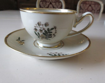 DENMARK PRINCE HAMLET Demitasse Cup and Saucer Set