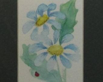 Original watercolor,Watercolor Painting,Floral Watercolor,Watercolor Flowers,Watercolor Art,Original Painting, #39